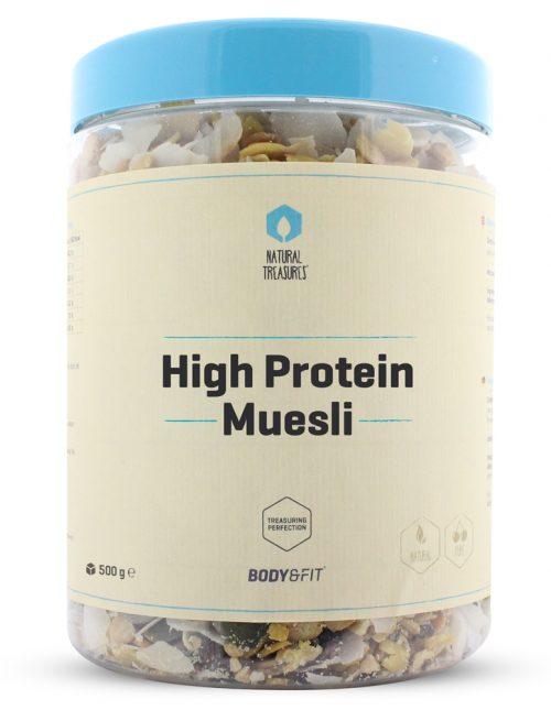 high protein musli
