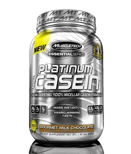Muscletech Platinum 100 % Casein - ELIT NUTRITION -
