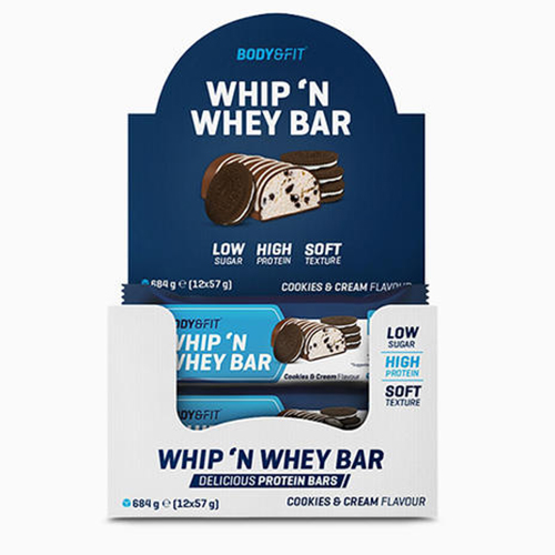 WHIP 'N WHEY cookies