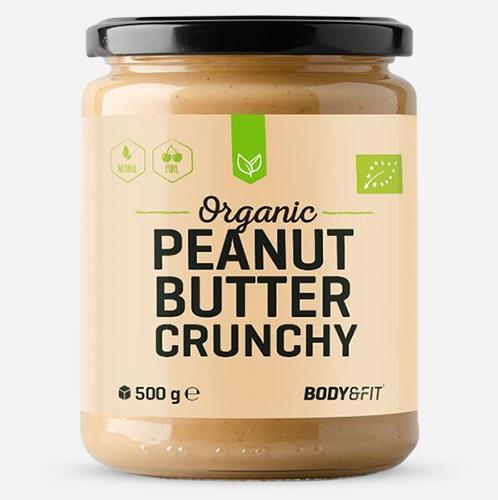 ORGANIC PEANUT BUTER Crunchy 500G
